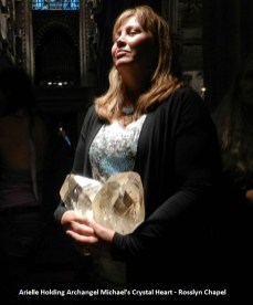 arielle-with-michaels-heart-crystal-in-rosslyn-chapel-600x