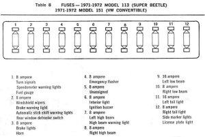 1972 Beetle Wiring Diagram | TheGoldenBug