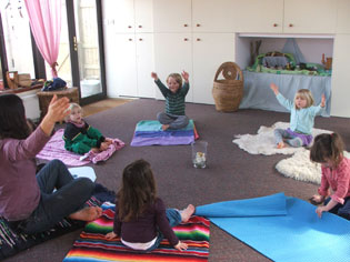 Golden Child Yoga, kundalini yoga for children with Jotipal Kaur, Frome
