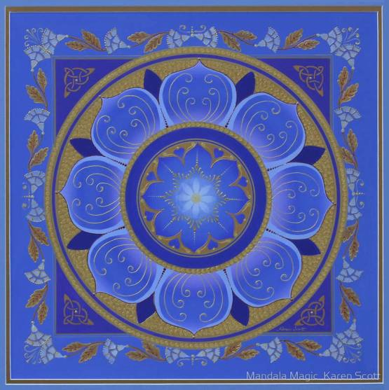 Mandala Magic by Karen Scott, www.mandalamagic.com.au