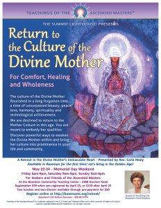 Return to the Culture of the Divine Mother