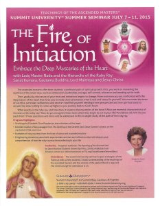 The Fire of Initiation