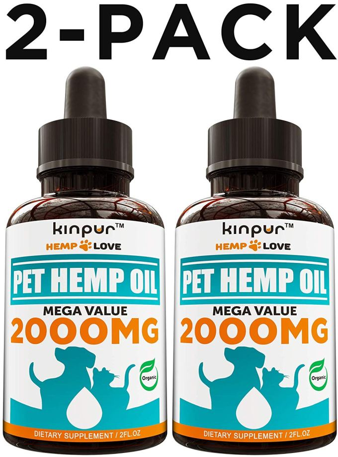 Kinpur Hemp Oil for Dogs - 2 Pack