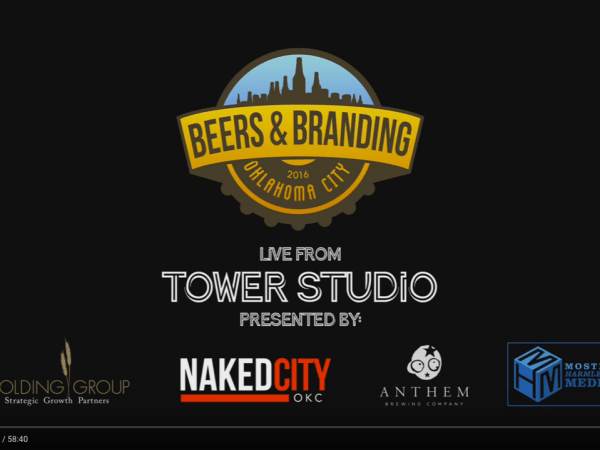 #BeersAndBranding OKC 4thQtr2016 Live Stream Video