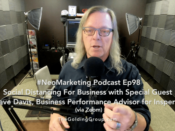 Social Distancing For Business w/ Special Guest Steve Davis