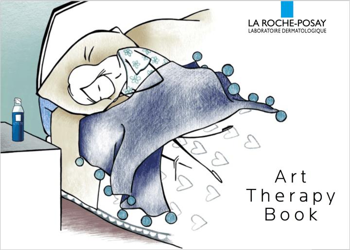 La Roche Posay Art Therapy Book_1