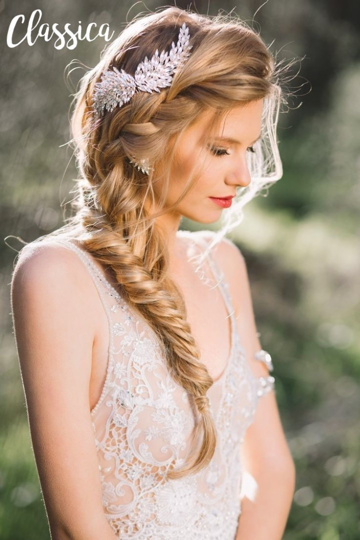 Bridal Hair French Braid 736 X 1104 20 Fabulous Wedding Hairstyl