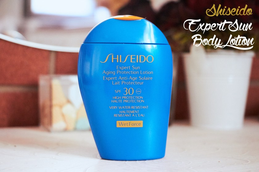 Shiseido Sun Expert Body WETFORCE lotion WETFORCE