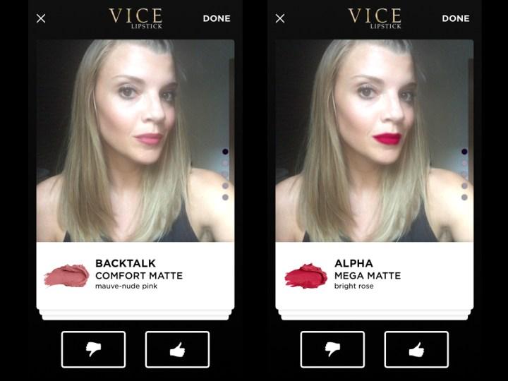 Urban Decay Vice Lipstick app 5