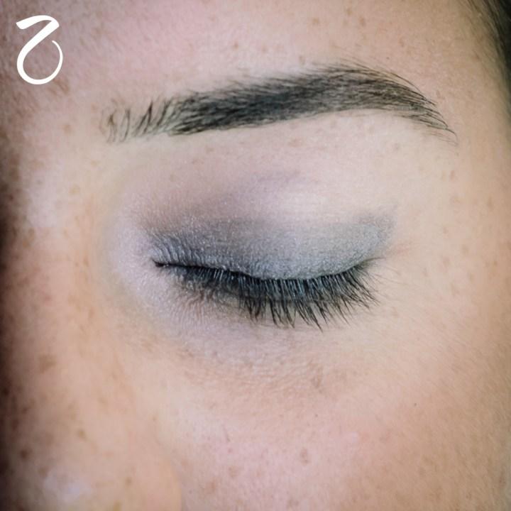 makeup nero grigio occhi sensibili 3