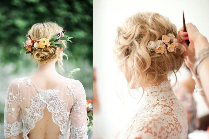 Idee acconciatura da sposa | Pinterest