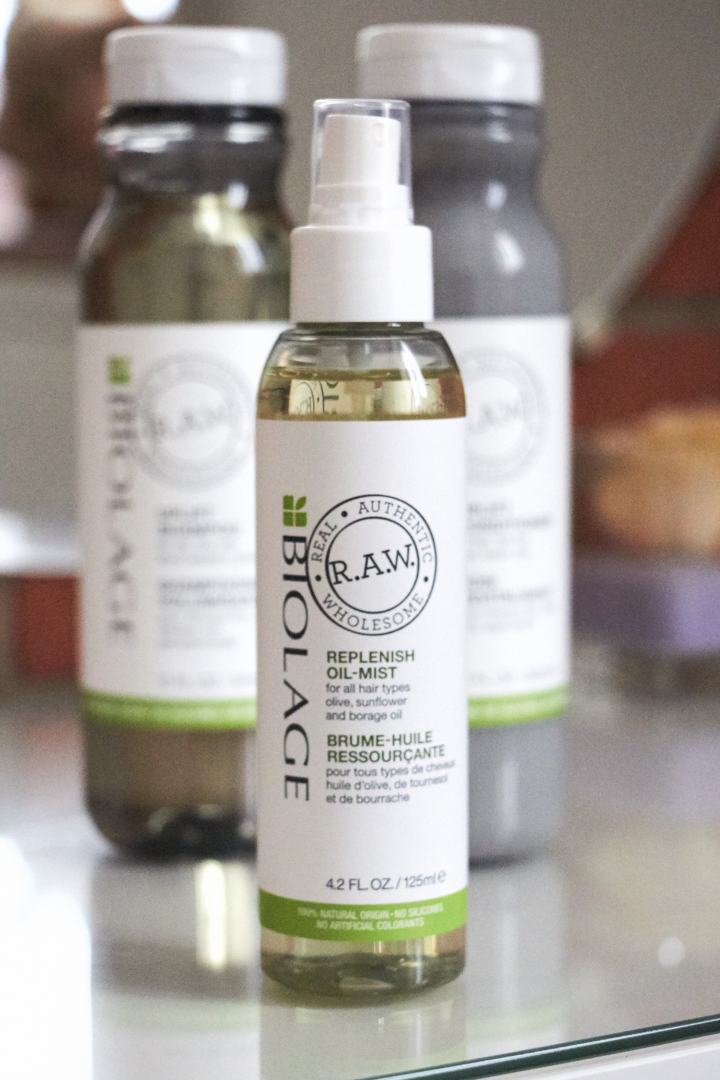 BIOLAGE RAW oil mist 2