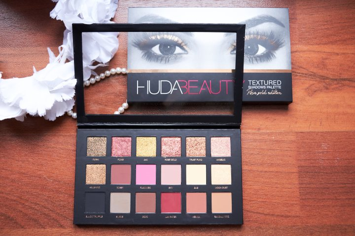 HUDA Beauty | Recensione Textured Shadows Palette Rose Gold Edition