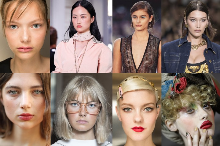 Make Up trend PE 2018 dalla Milano Fashion Week