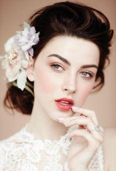 Wedding make up sposa pink rosa labbra pesca