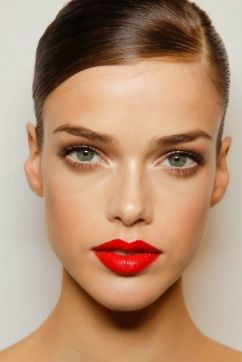 make up sposa wedding rossetto rosso lipstick red