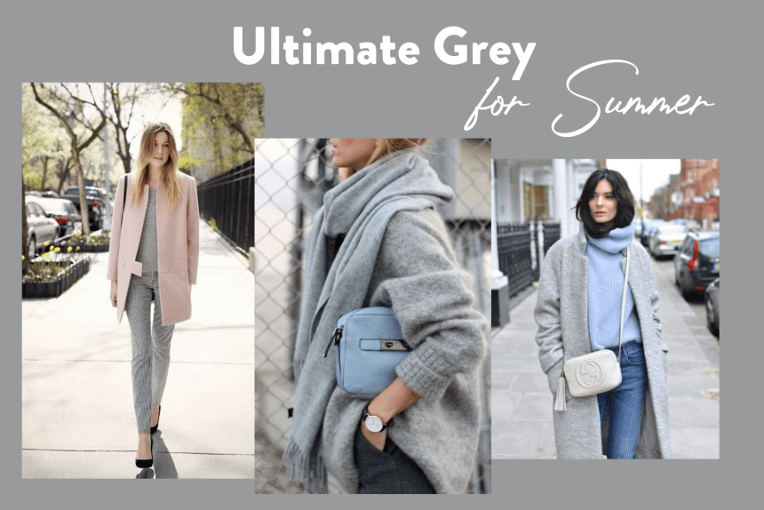 Outfit grigio e pastello Armocromia Estate Ultimate Grey Summer