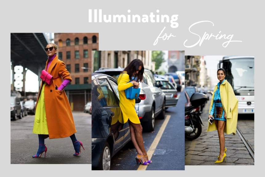 Illuminating Yellow Outfit Primavera armocromia