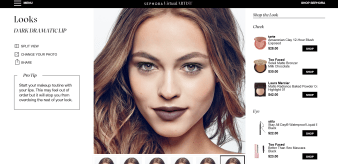 Sephora Virtual Artist Dramatic Lip