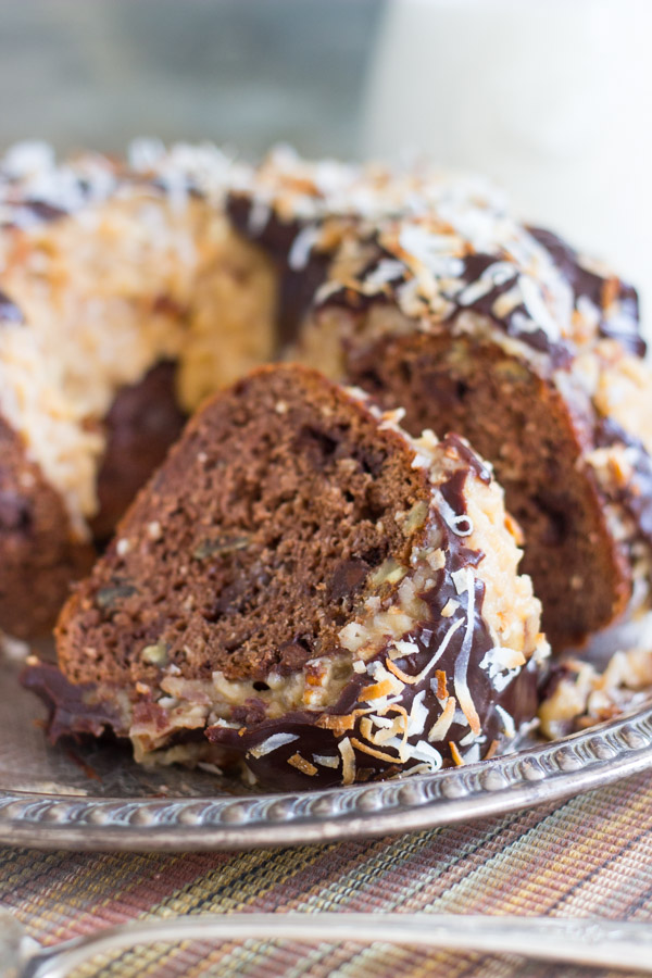 German Chocolate Cake Very Moist