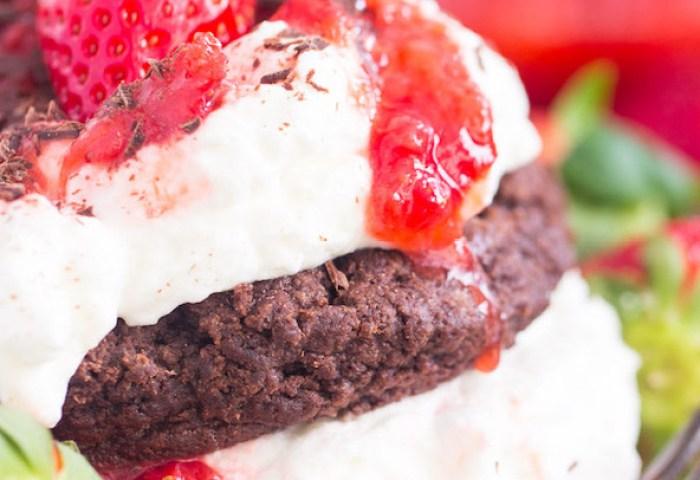 Chocolate Strawberry Shortcake Recipe The Gold Lining Girl