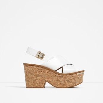 1. zara wedges