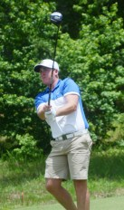 John Parker birdied the final two holes to win the title at the Festival of Flowers.