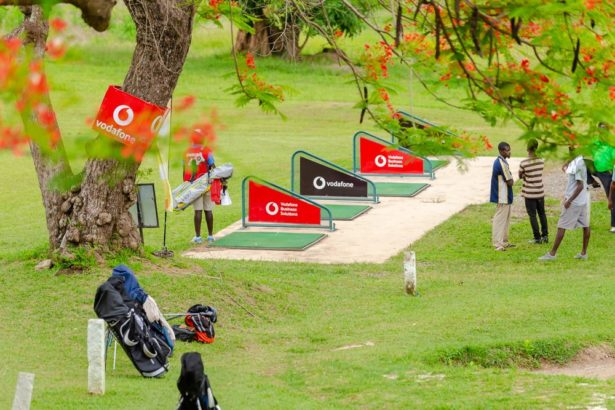 Video Highlights of Day 1 of the ongoing Vodafone 61st Asantehene Open Golf Championship