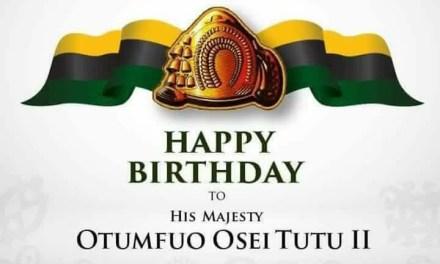 Happy Earth Day His Majesty Otumfuo Osei Tutu II