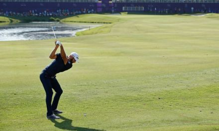 Dustin Johnson holes out from 171 yards in final shot of victory at FedEx St. Jude Classic