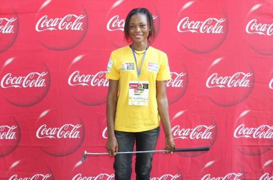 Gladys Kpatchi emerges Ladies winner in MiniGolf Championship