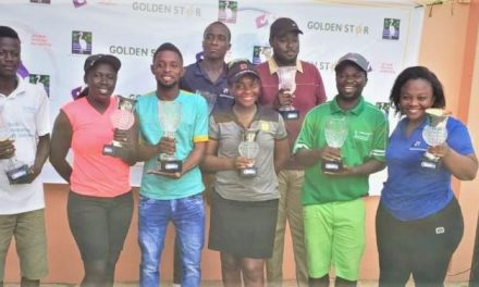 Jachere stages electrifying golf experience in Bogoso