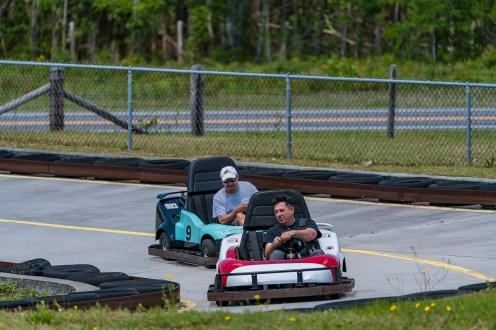 Go-Kart Racing at Golfin' Dolphin