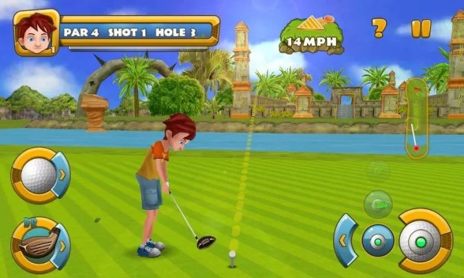 The 5 best golf games for your mobile phone  iPhone or Android