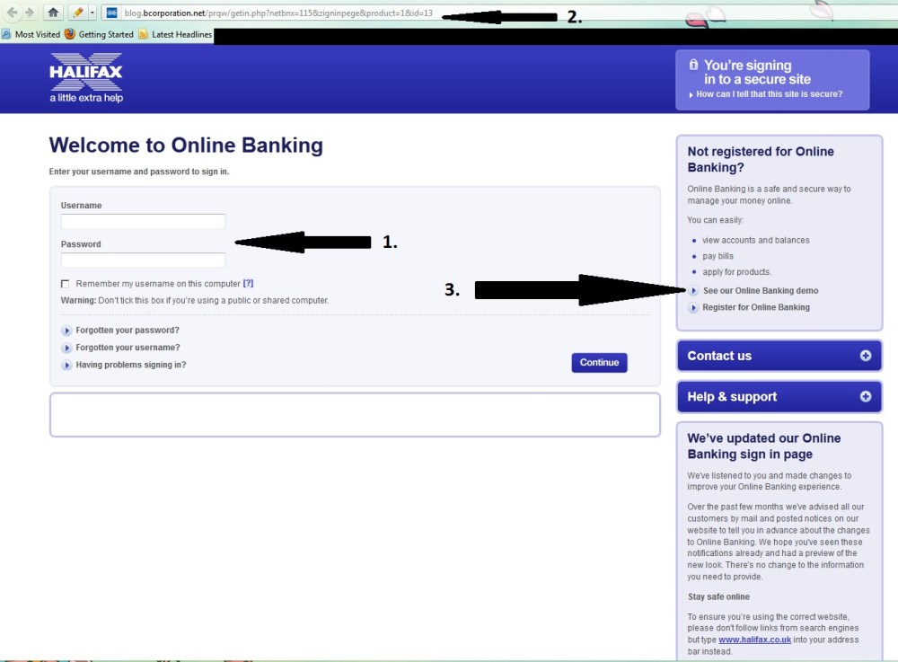 How to spot the clues of a fake email from your bank. (2/4)