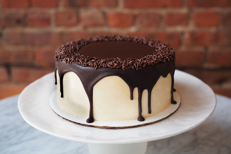 The Good Batch - Chocolate Caramel Cake