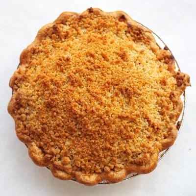Apple Crumble Pie Thanksgiving The Good Batch
