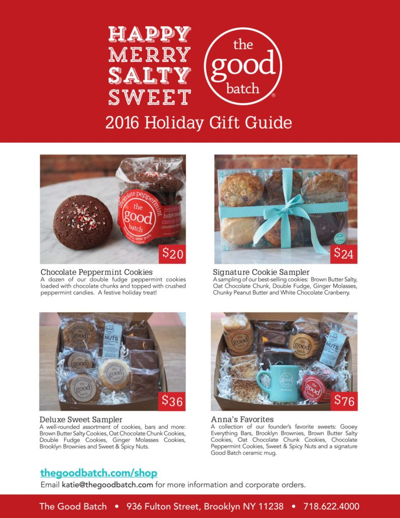 The Good Batch - 2017 Holiday Gift Guide
