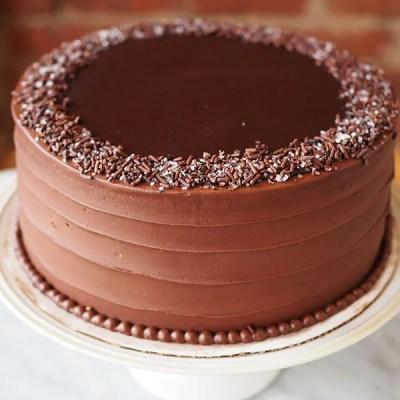 Chocolate Midnight Layer Cake