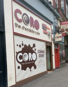 Coro Chocolate Cafe - Glasgow
