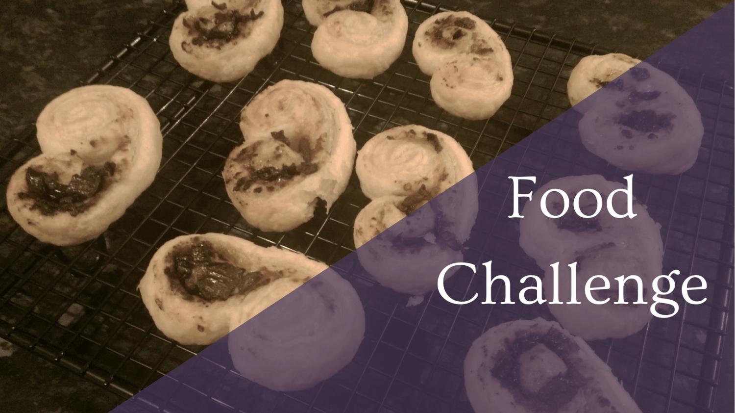 Featured Image - Food Challenge -Palmiers