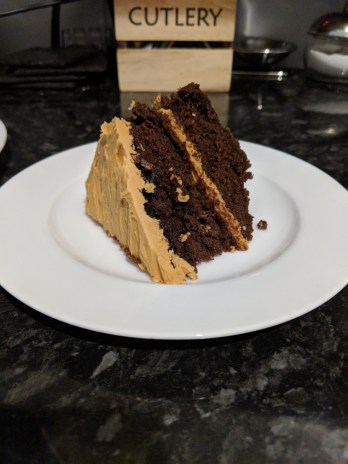 Paul Hollywood Chocolate Cake with salted caramel icing