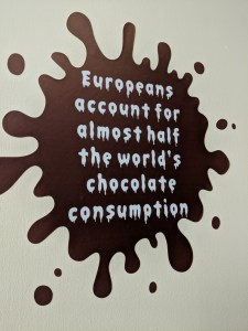 Coro Chocolate Cafe Wall Art Quote