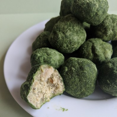 wheatgrass energy balls