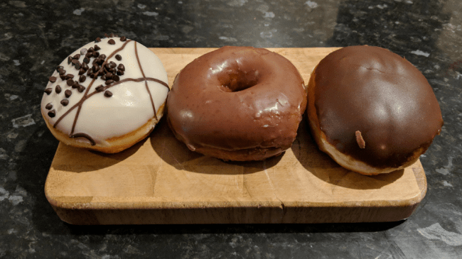Featured Image - chocolate glaze doughnut