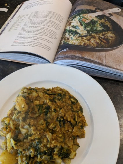 Lentil Dish from Three Good Things Book
