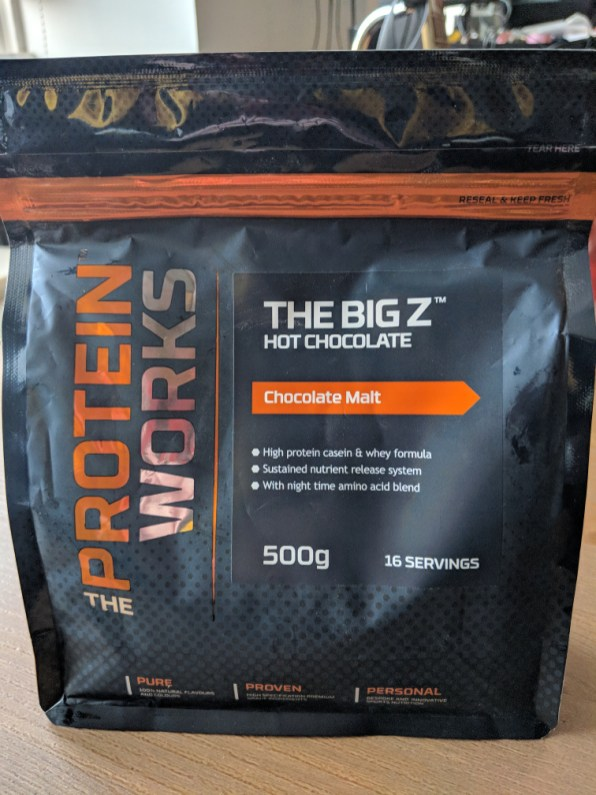 Protein Works Hot Chocolate