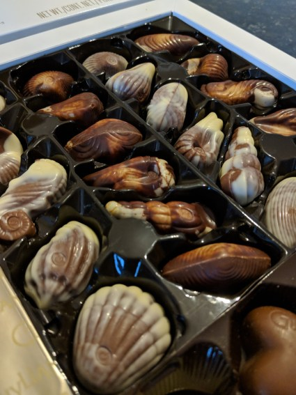 Guylian Sea Shell Chocolates