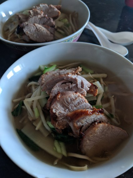 Honey Roast Pork Ramen