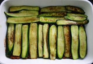 TheGoodGreeff mixed vegetable moussaka zucchini layer